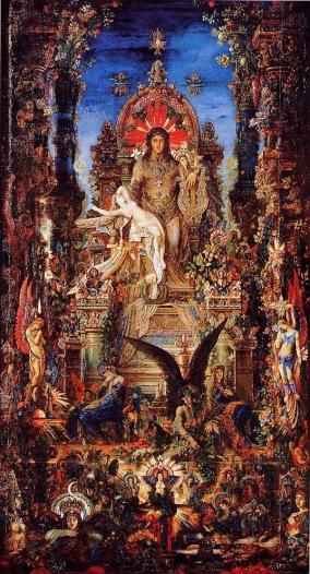 Jupiter and Semele - by Moreau
