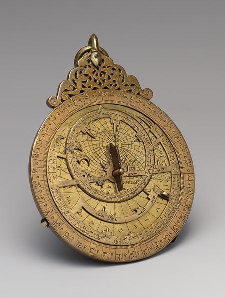 Astrolabe of 'Umar ibn Yusuf ibn 'Umar ibn 'Ali ibn Rasul al-Muzaffari,