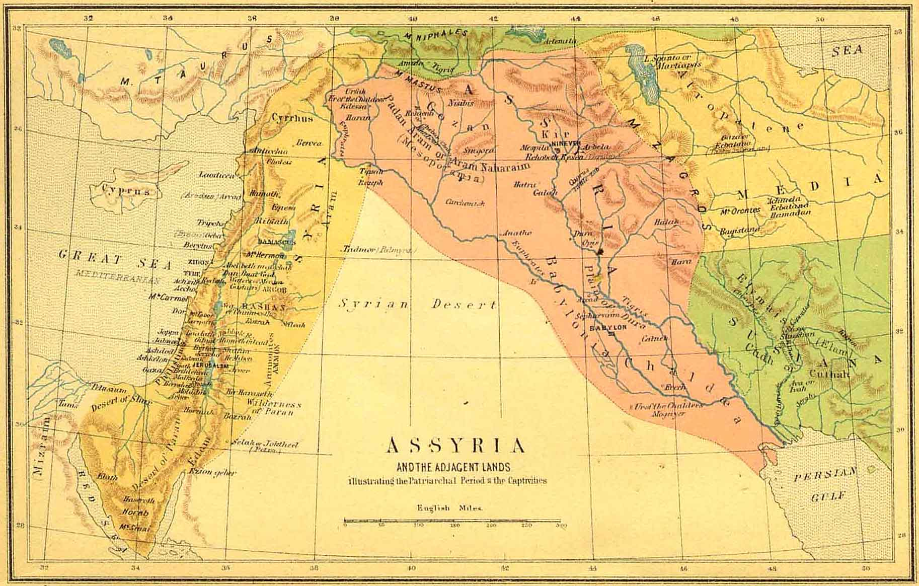 a look at the different periods of the assyrian empire The two neighboring sister-states of ancient mesopotamia competed for dominance and as such grew widely different in character history assyria took its name from the town of ashur, which was the main town but it may also apply to the wide empire that was captured and ruled by the assyrians assyria.