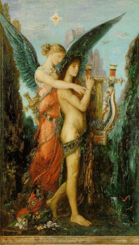 Hesiod and the Muse (1891)—Musée d'Orsay, Paris