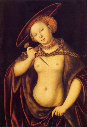 Lucretia Borgias by Lucas Cranach- A Darker Side to Eros