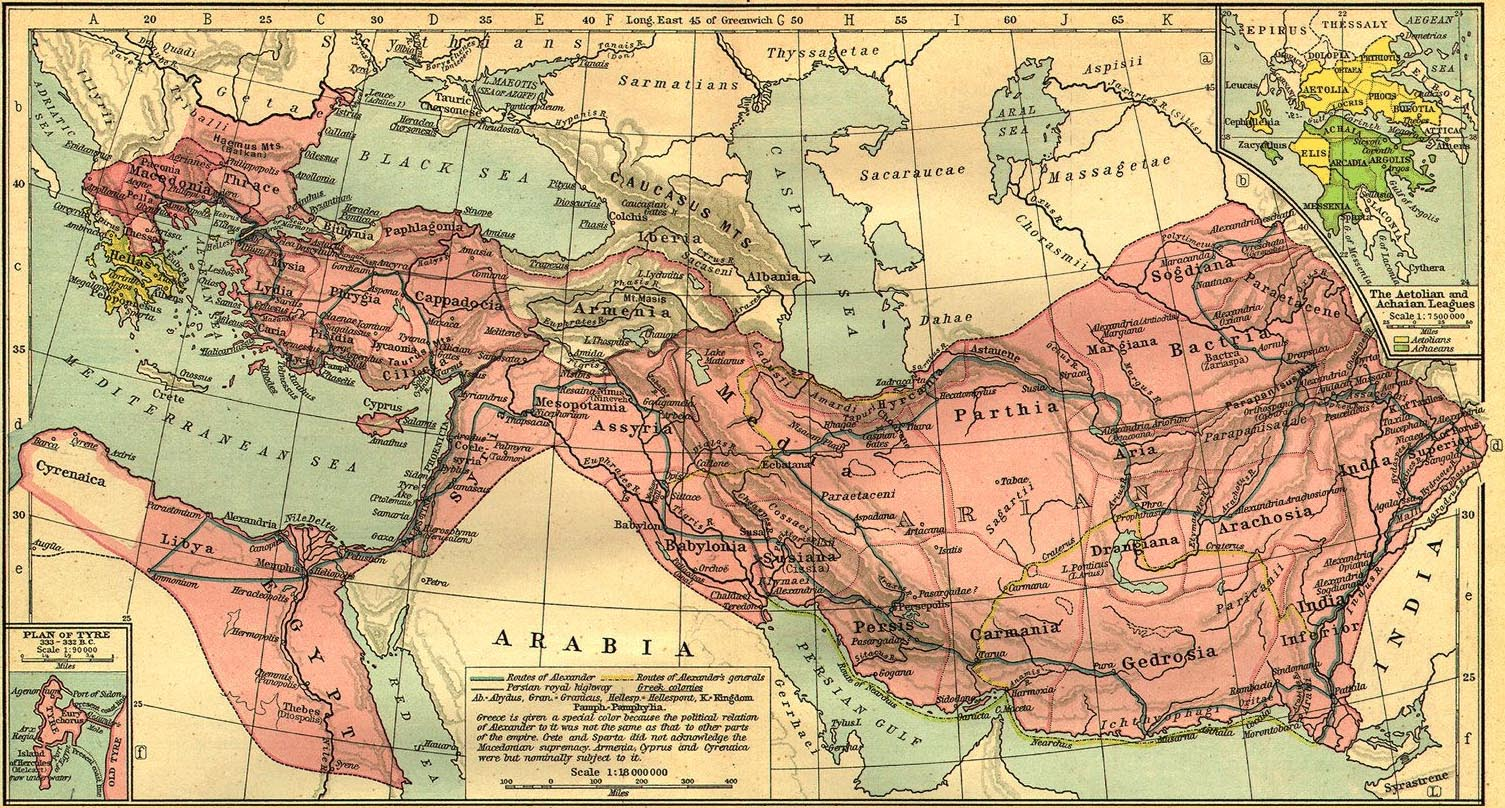extension of macedonian control over greece Macedonia before alexander macedonian background after securing macedonian control over greece, which had been shaken by philip's assassination.
