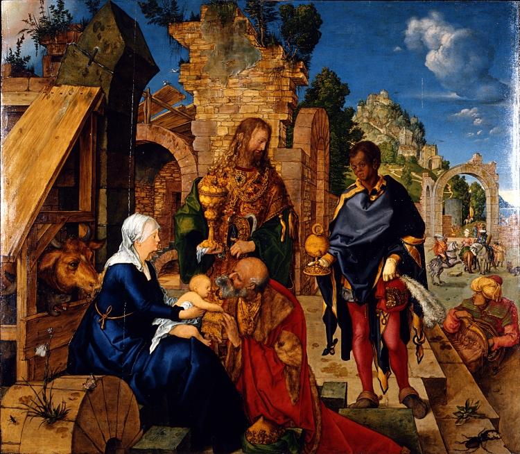 Albrecht Dürer Adorazione dei Magi