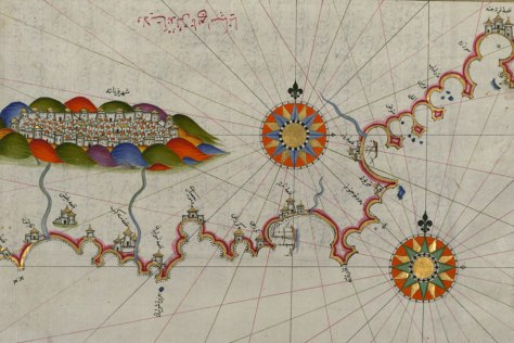 15 th Century Map of Andalusia