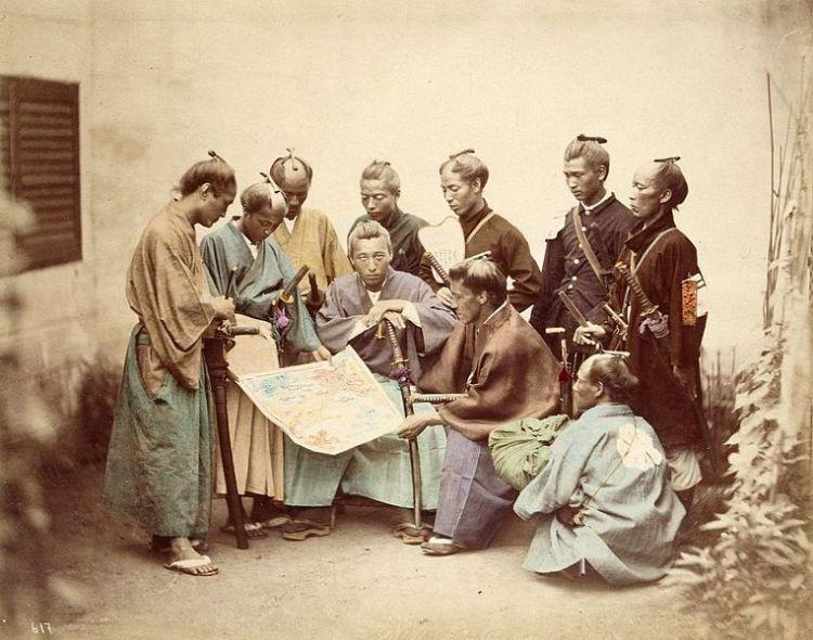 Satsuma Samurai Fought for the Emperor during-Boshin War Period