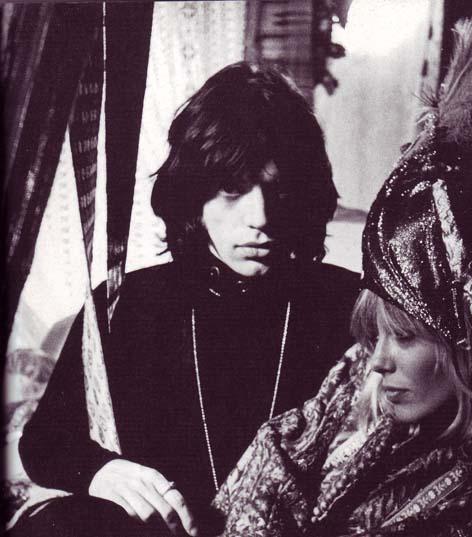 Jagger with Anita Pallenberg