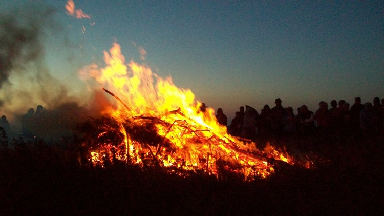 Litha Bonfire in Cornwall