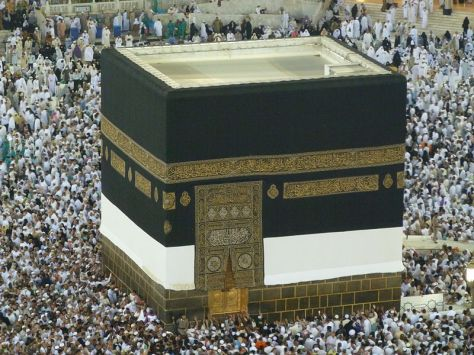 Counter Clockwise Circumambulation of the Kaaba