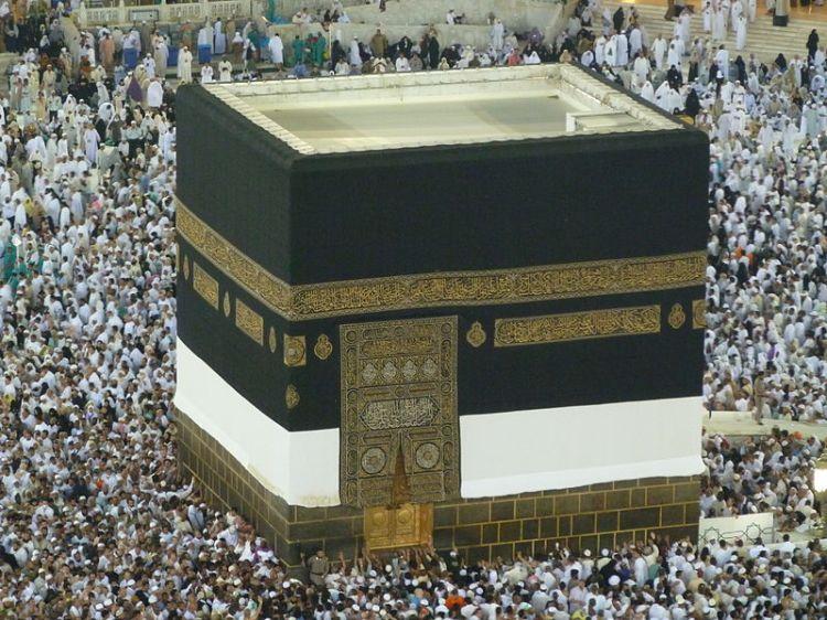 Counter Clockwise Circumambulation of the Kaaba