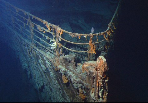 RMS Titanic by the NOAA 2004 _3