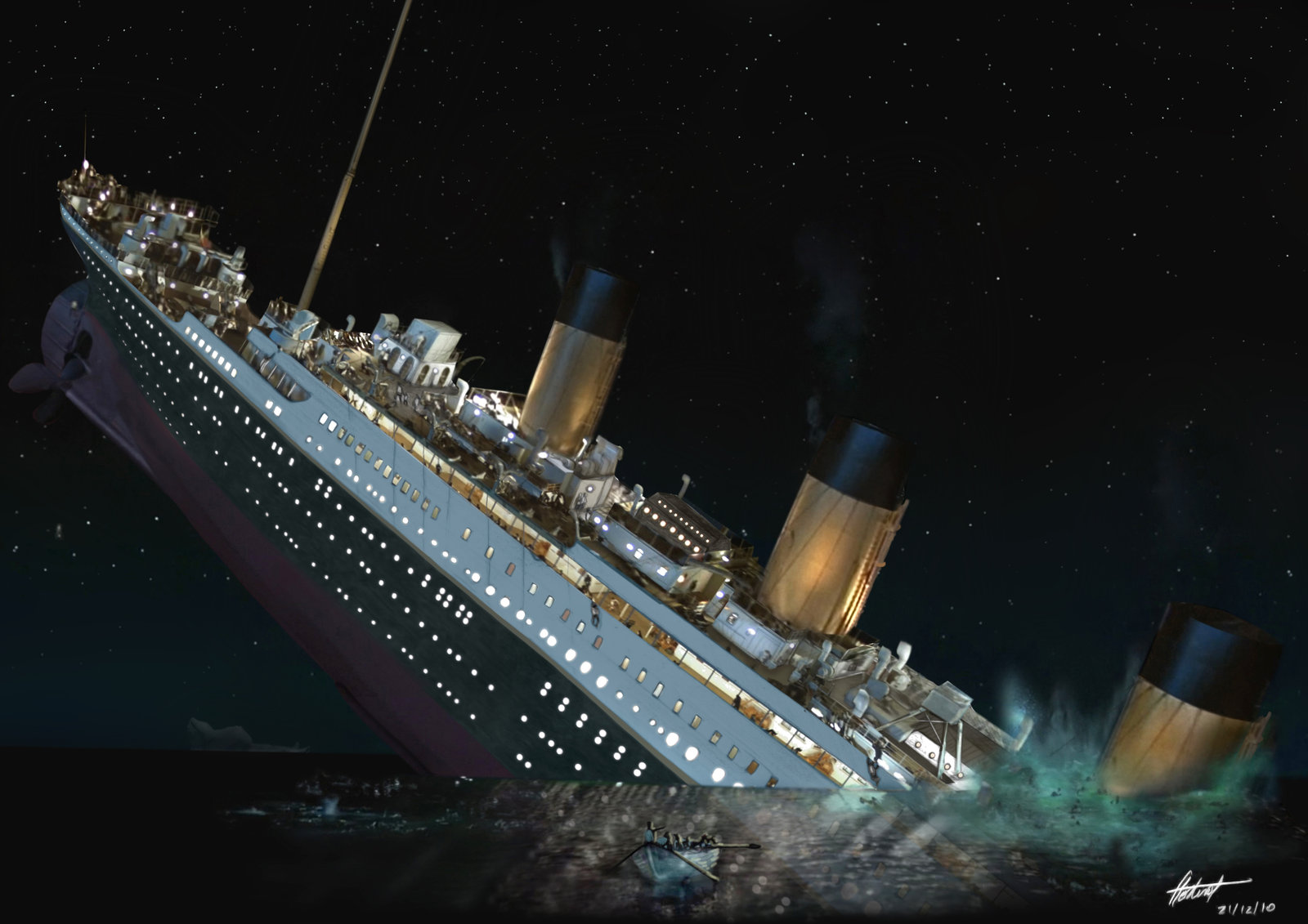 The Sinking Of The Titanic: Another Rothschild-Rockefeller-Morgan Conspiracy?
