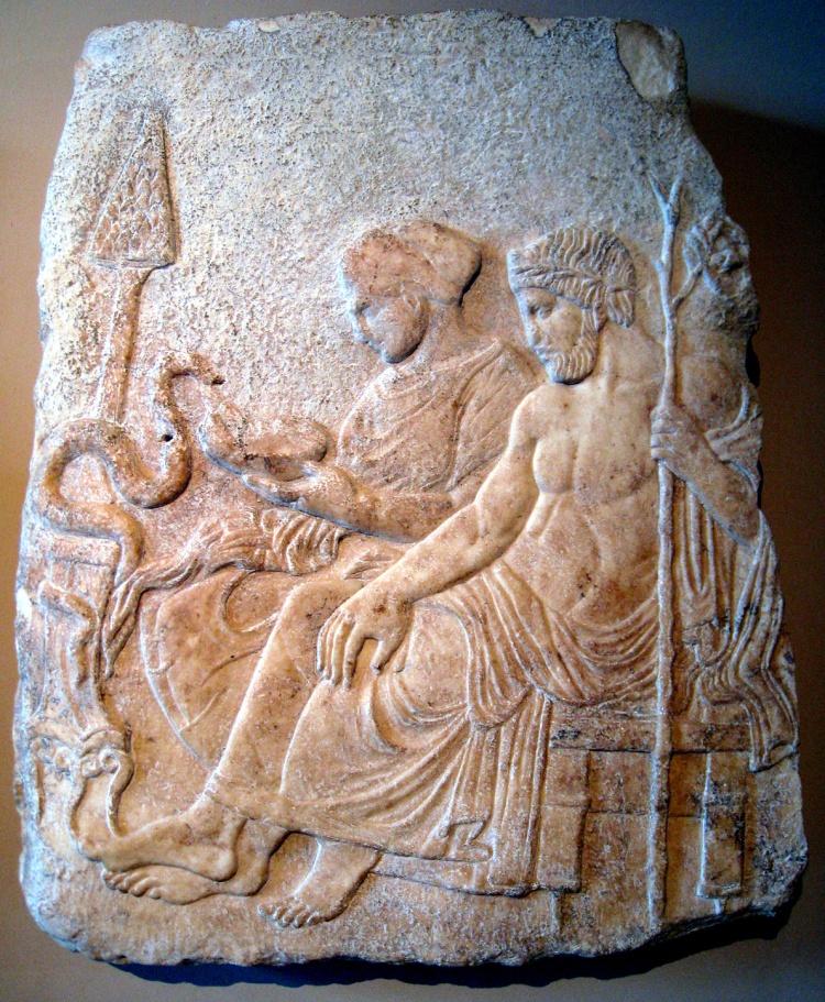 Asclepius & Hygieia