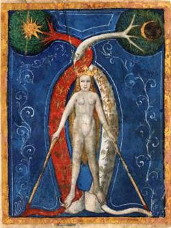 Alchemical art from the Buch der Heiligen Dreifaltigkeit