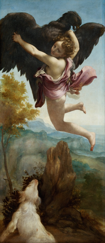 Antonio_Allegri (called Correggio) The Abduction of Ganymede