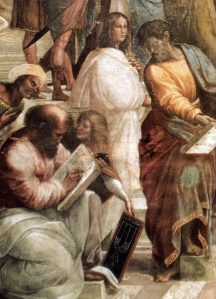 "Pythagoras - Detail from Raphael's ""School of Athens"""