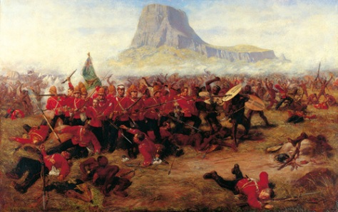 Battle of Islanhlwan by Charles Edwin Fripp