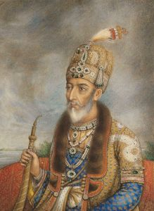 "Bahadur_Shah_II_of_India - ""the last Moghul"""