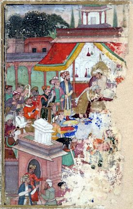 Jahangir_investing_a_courtier_with_a_robe_of_honour_watched_by_Sir_Thomas_Roe,_English_ambassador_to_the_court_of_Jahangir_at_Agra_from_1615-18,_