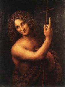 John the Baptist - Leonardo de Vinci