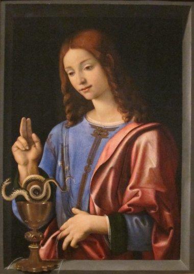 Piero_di_Cosimo_(Piero_di_Lorenzo)_-_St._John_the_Evangelist,_c._1500