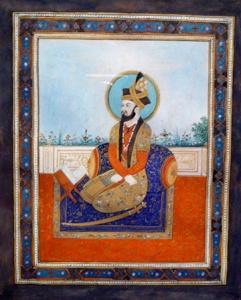 Portrait of Humayun, posthumously painted c. 1700