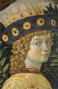 "Benozzo Gozzoli, - ""the Young King"" (detail) Procession of the Magi."